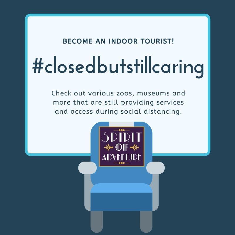 #ClosedButStillCaring Image