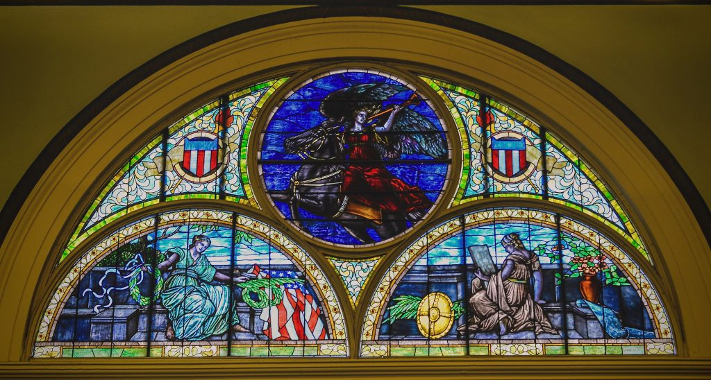 Large Stained Glass - Memorial Hall