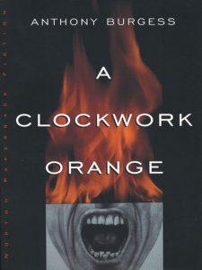 A Clockwork Orange Book Jacket