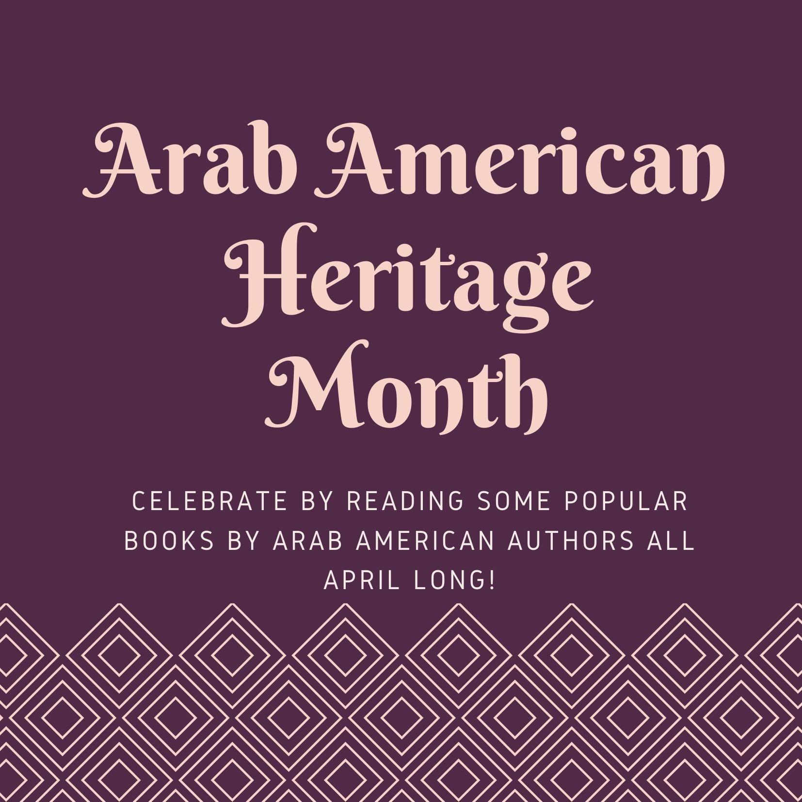 Arab American Heritage Month Image