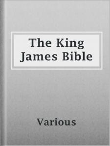 The King James Bible image