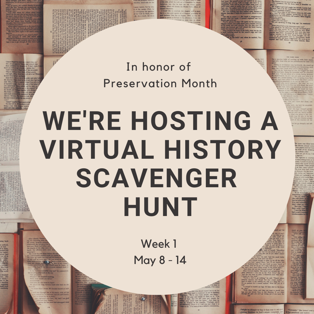 Virtual History Scavenger Hunt