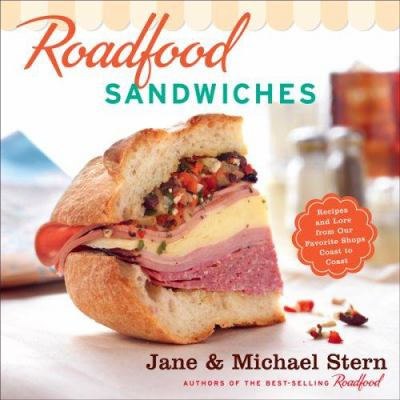 Roadfood Sandwiches Book Jacket