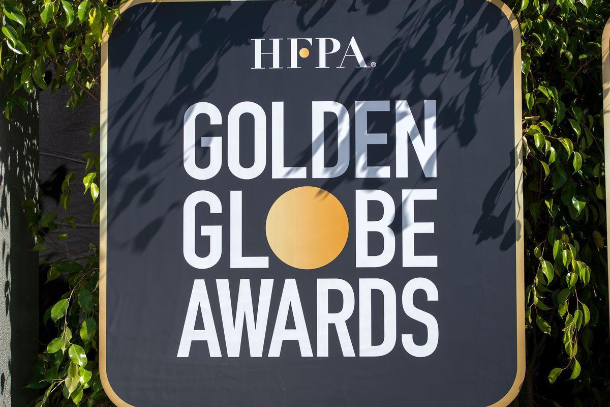HFPA Golden Globes Awards Sign